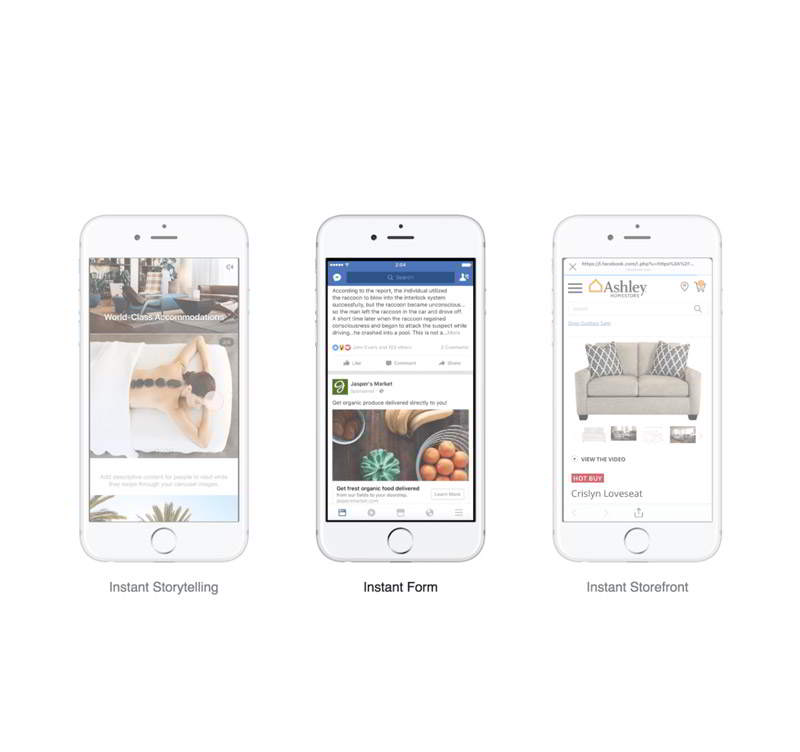 "Facebook Upgrades Canvas Ads, Now Known as ""Instant Experience"" Ads - Alchemist Digital"